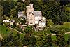 Foto 370: Luftaufnahme Schloss Neuhabsburg in Meggen.