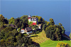 Foto 372: Luftaufnahme Schloss Buonas am Zugersee.