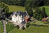 Foto 374: Luftaufnahme Schloss Meggerhorn in Meggen.