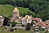 Foto 410: Das Schloss von Vufflens-le-Chateau.