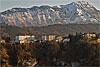 Foto 559: Die Bürgenstock-Hotels über dem Vierwaldstättersee..