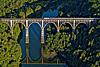 Foto 3: Das Grandfey-Viadukt bei Fribourg.