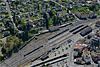 Foto 28: Der Bahnhof Payerne VD.
