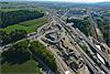 Foto 38: Ausbau der Nordumfahrung Zürich. Blick auf die Baustelle bei Affoltern.