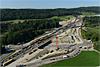 Foto 39: Ausbau der Nordumfahrung Zürich. Blickrichtung Gubristtunnel Nordportal.