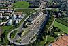 Foto 40: Ausbau der Nordumfahrung Zürich. Blick auf das Südportal des Gubristtunnels.