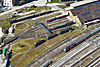 Foto 76: Nein, keine Modelleisenbahn, sondern ein Teil des Bahnareals von Romanshorn TG. Locorama genannt.