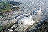 Foto 57: Nebel schiebt sich über die Papierfabrik Perlen LU.