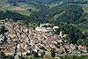 Foto 59: Aubonne VD mit seinem mittelalterlichen Ortsbild und dem Schloss.
