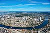 Foto 61: Basel und sein Rheinknie.