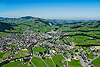 Foto 67: Planlos gewachsen Appenzell ist der Hauptort des Schweizer Kantons Appenzell Innerrhoden.