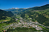 Foto 82: Illanz GR liegt am Vorderrhein und am Ostende der Surselva.