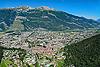 Foto 83: Chur ist der Hauptort des Schweizer Kantons Graubünden. Im Vordergrund die Altstadt.