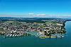 Foto 87: Romanshorn TG hat den grössten Hafen am Bodensee und tägliche Fährverbindungen nach Friedrichshafen.