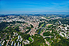 Foto 95: Fribourg bzw. Freiburg ist der Hauptort des Saanebezirks im Kanton Freiburg.
