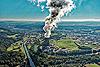 Foto 135: Bei der Atomkraft sehen viele Menschen schwarz. Im Bild das Atomkraftwerk Gösgen AG.