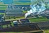 Foto 136: Viel Rauch von der Landi-Trocknungsanlage bei Sursee LU.
