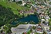 Foto 145: Das Schloss Werdenberg mit gleichnamigem See in Buchs SG.