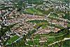 Foto 270: Fribourg oder Freiburg ist der Hauptort des Saanebezirks und des Kantons Freiburg..