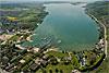 Foto 273: Der Bielersee von Norden gesehen..