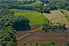 Foto 297: Feld-, Wiesen-und Waldlandschaft bei Duggingen (BL). ..