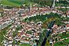 Foto 229: Fribourg bzw. Freiburg und seine Altstadt..